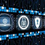 Digital security concept screen