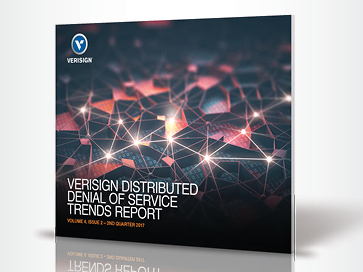 Cover of the Q2 2017 DDoS Trends Report