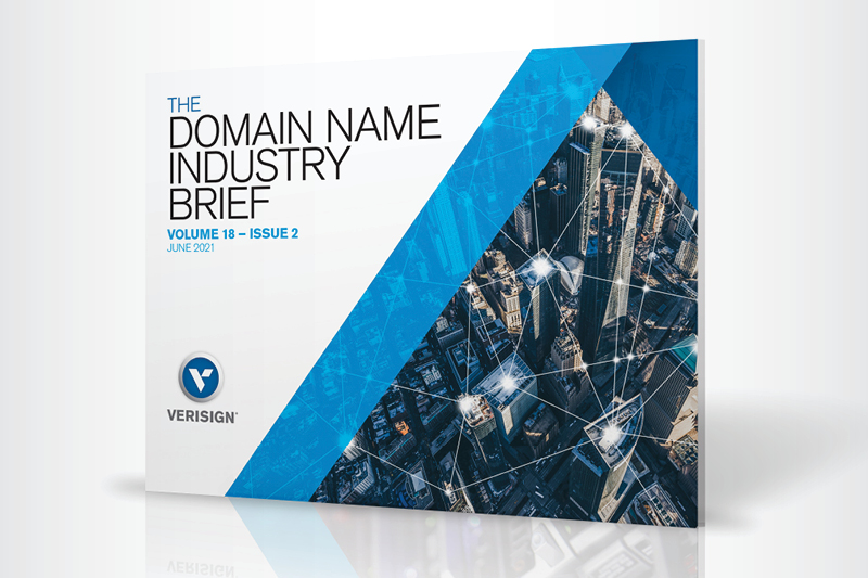 Q1 2021 Domain Name Industry Brief Report Cover