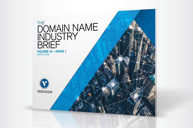 Verisign Q4 2020 Domain Name Industry Brief: 366.3 Million Domain Name Registrations in the Fourth Quarter of 2020